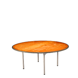 Table ronde Ø 150 cm ignifugée