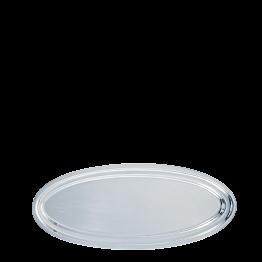 Plat ovale argent 30 x 70 cm