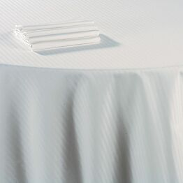 Serviette de table coton blanc 60 x 60 cm