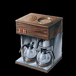 Machine à café Miko + 1 paquet de 4 doses de café