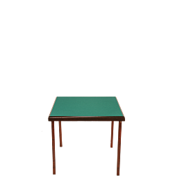 Table de bridge 78 x 78 cm H 70 cm