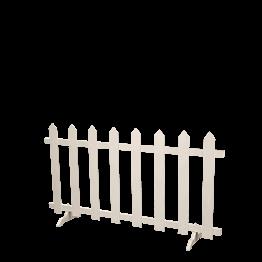 Barrière blanche Vincennes L 200 cm H 110 cm hors montage
