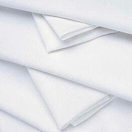 Nappe lin blanc 240 x 240 cm