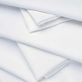 Nappe lin blanc 270 x 270 cm