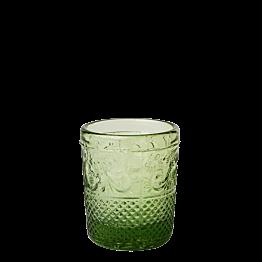 Photophore baroque vert olive Ø 5 cm H 6,5 cm