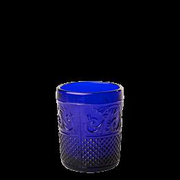 Photophore baroque bleu foncé Ø 5 cm H 6,5 cm