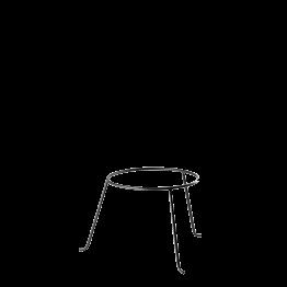 Support de plat en fer H 19 cm Ø 22 cm