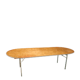 Table ovale 100 x 300 cm