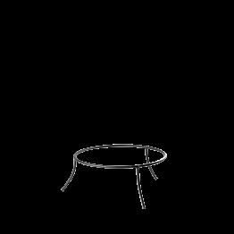Support de plat en fer H 10 cm Ø 25 cm