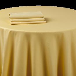 Nappe chintz jaune tournesol 270 x 270 cm