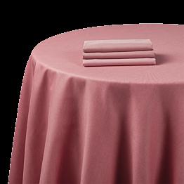 Nappe chintz rose 270 x 270 cm