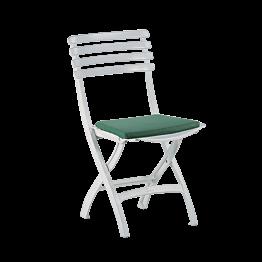 Chaise Deauville avec galette verte