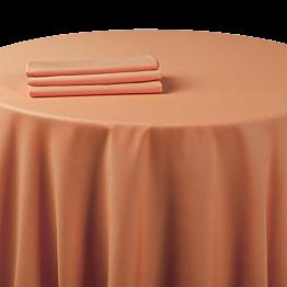 Chemin de table chintz orange 50 x 270 cm