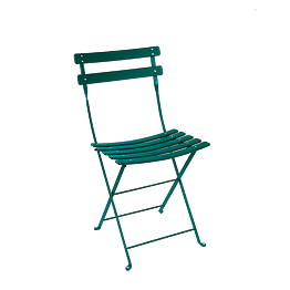 Chaise Trocadéro verte