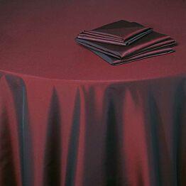 Nappe Toscane rouge Opéra 280 x 280 cm