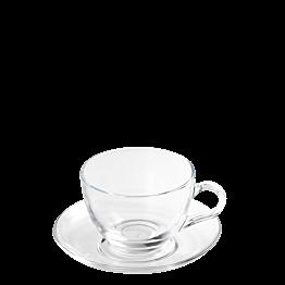Tasse et sous-tasse à thé Vague 21 cl