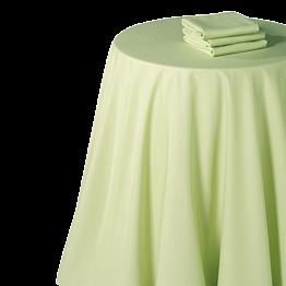 Nappe chintz pistache 270 x 270 cm
