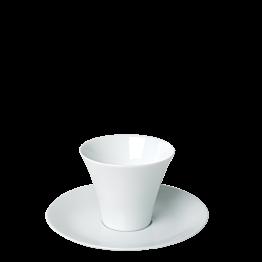 Tasse Kyoto blanche Ø 7,5 cm H 6,5 cm 11 cl