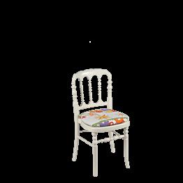 Chaise Napoléon III blanche enfant