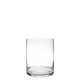 Support de plat en verre Ø 25 cm H 30 cm