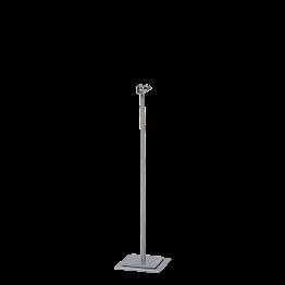 Potelet de table acier H 31 cm