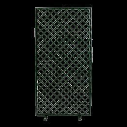 Claustra en treillage vert 100 x 200 cm