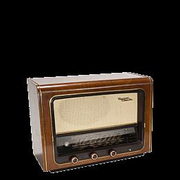 Poste de radio vintage 52 x 19,5 cm H 38 cm