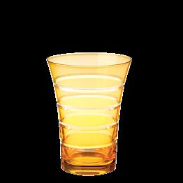 Gobelet pivoine ambre Ø 8,5 cm H 11 cm 28 cl