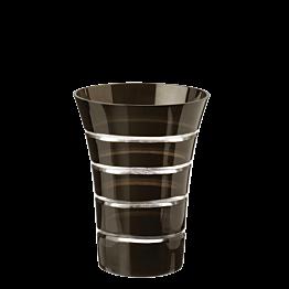 Gobelet pivoine noir Ø 8,5 cm H 11 cm 28 cl