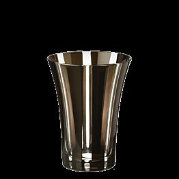 Gobelet tulipe noir Ø 8,5 cm H 11 cm 28 cl