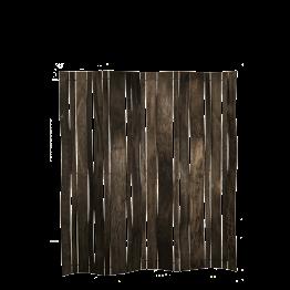 Paravent Laméco gris 180 x 180 cm