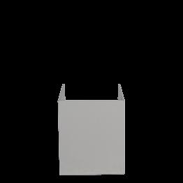 Cache blanc pour boîte noire