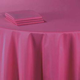 Serviette de table Delhi fuchsia 60 x 60 cm ignifugée M1