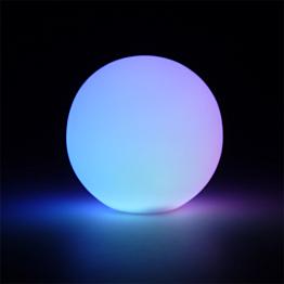 Boule lumineuse multicolore Ø 8 cm