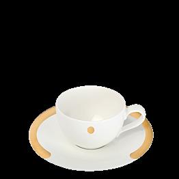 """Tasse et sous-tasse à thé """"C"""" 20 cl"""