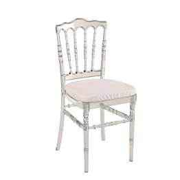Location Napoléon III blanche Options Chaise pliante DHE2W9I