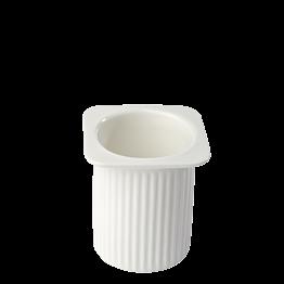Petit suisse en porcelaine 6 cl