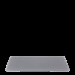 Plateau résine anthracite 30 x 40 cm