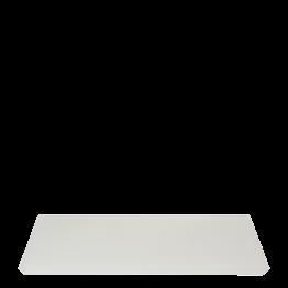 Plateau résine blanc 30 x 40 cm
