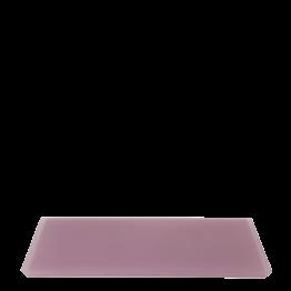 Plateau résine rose 30 x 40 cm