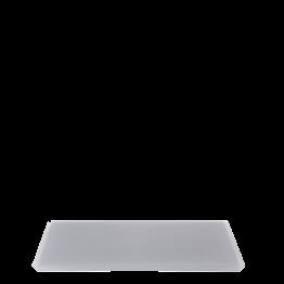 Plateau résine anthracite 20 x 30 cm