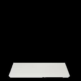 Plateau résine blanc 20 x 30 cm
