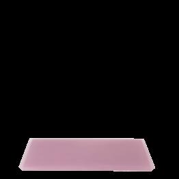 Plateau résine rose 20 x 30 cm