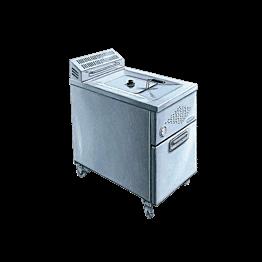 Friteuse électrique 16 litres - 380 volts - P 17