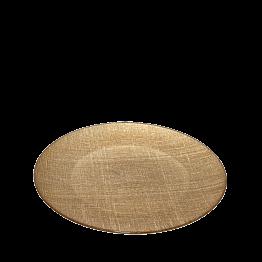 Assiette de présentation Strass or Ø 32 cm