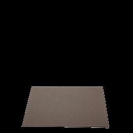 Set de table tissu chocolat 48 x 32 cm (par 30)