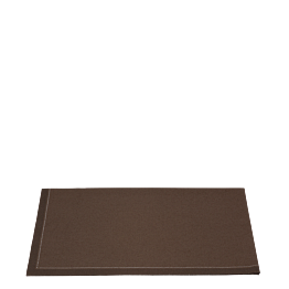 Serviettes tissu chocolat 2 plis 24 x 16 cm (par 10 )