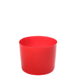 Fiesta rouge Ø 8 cm H 6 cm 19 cl