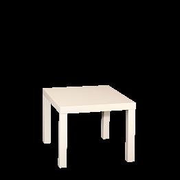 Table basse blanche 55 x 55 cm H 45 cm
