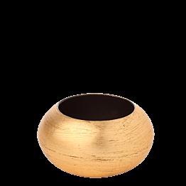 Rond de serviette résine Cléopâtre or